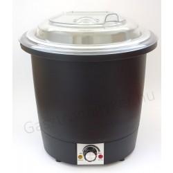 Elektromos leves chafing, melegentartó Pc tetővel 10 literes