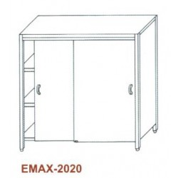 Tároló szekrény Emax-2020 KR 1000x500x1800