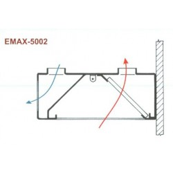 Elszívóernyő Emax-5002 KR 1000x1200x400