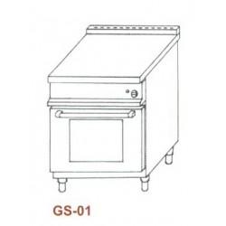 Gáz sütő,1xGN1/1 GS-01