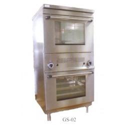 Gáz sütő,2xGN1/1 GS-02