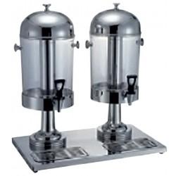 Juice adagoló 2*8,5 literes tartállyal rm. 55,5x35x60cm (dupla)