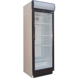 Felépítményes hűtővitrin 374 literes üvegajtós