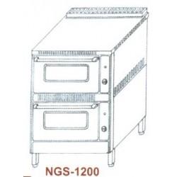 Gáz sütő, 2 aknás NGS-1200