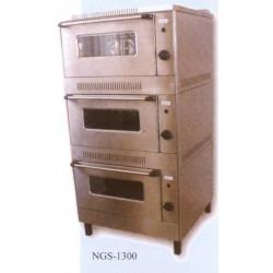 Gáz sütő, 3 aknás NGS-1300