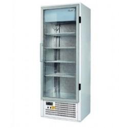 Üvegajtós hűtővitrin több színben bruttó 600 literes