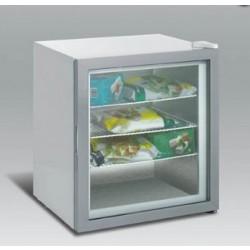 Üvegajtós fagyasztó 92 literes festett külsővel