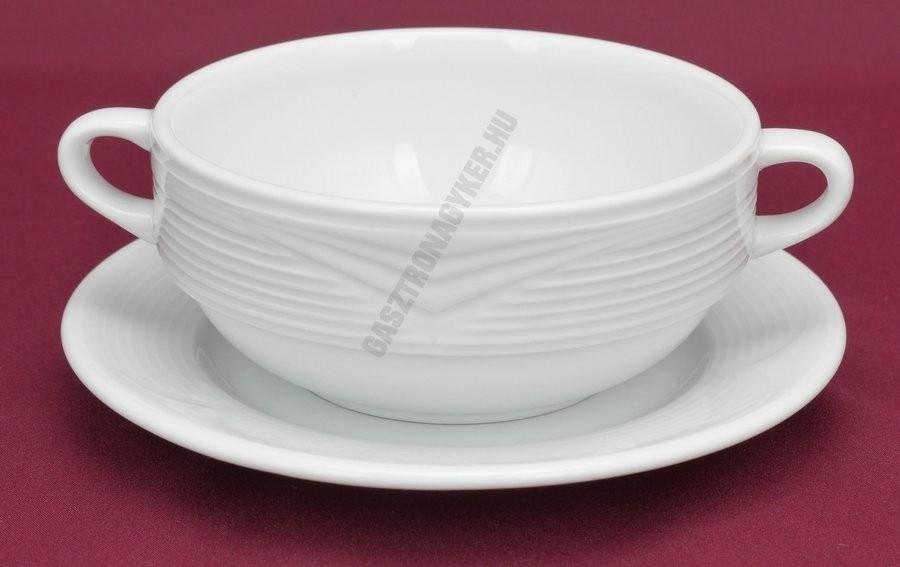 Saturn porcelán tányér család