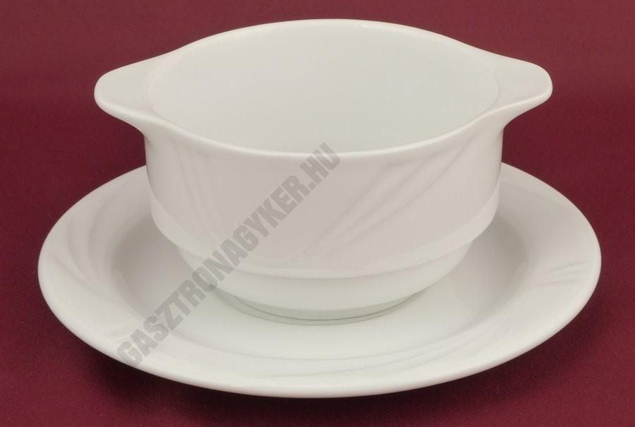 Arcadia porcelán tányér család