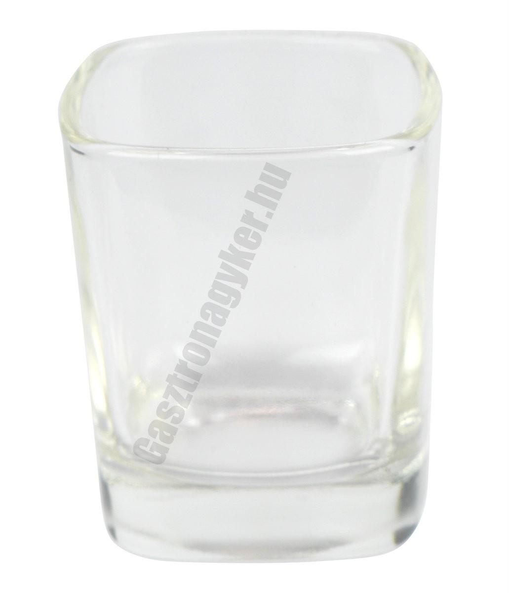 Cheer pálinkás pohár 25 ml, üveg