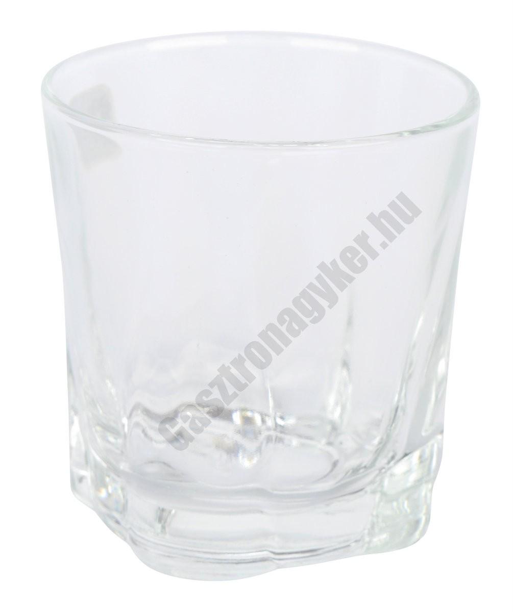 Falcon vizes-whisky pohár, 300 ml, üveg