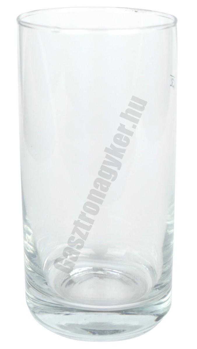 Gasztro pohár 300 ml mértékjeles, üveg