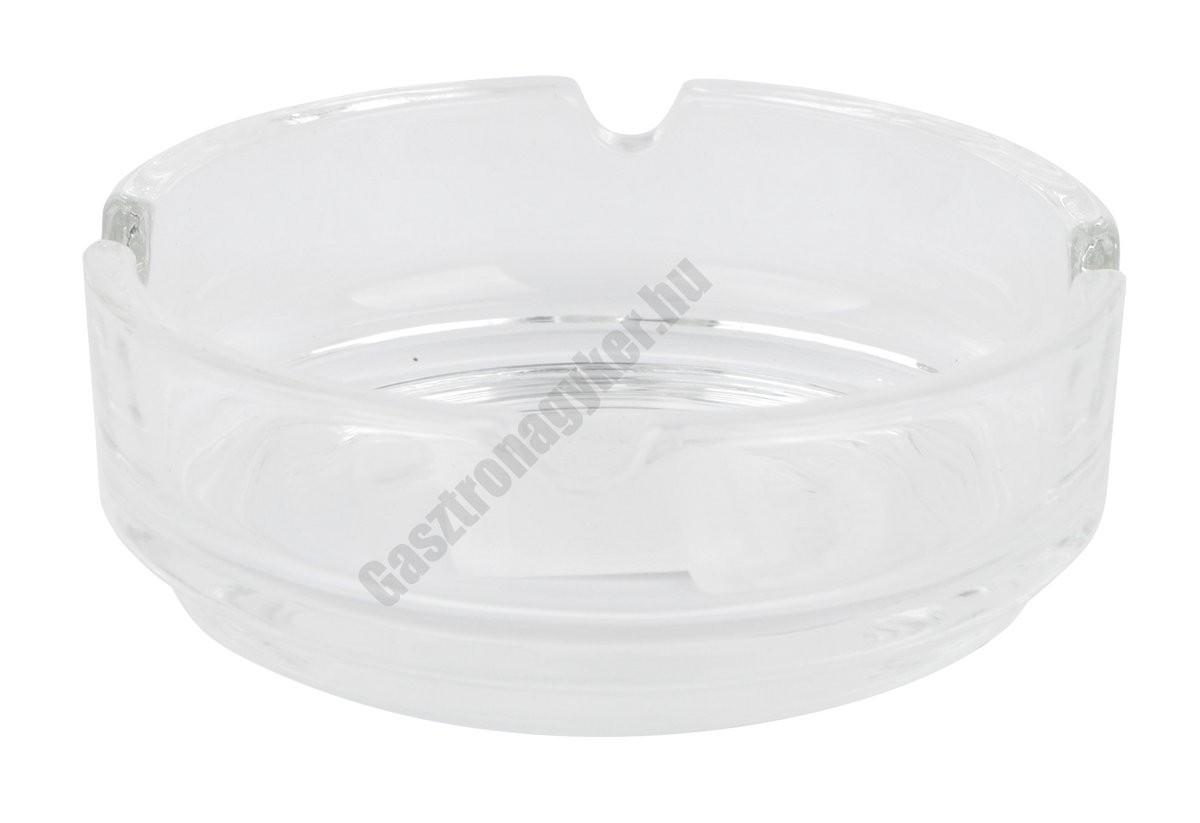 Hamutartó 9 cm átlátszó üveg