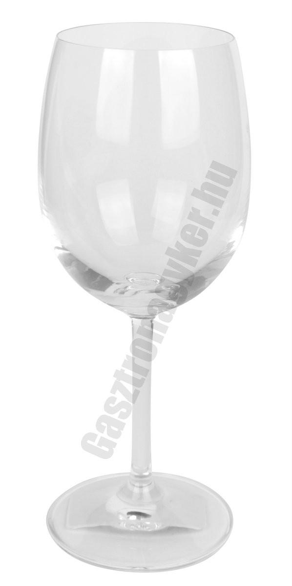 Gala vörösboros pohár, 250 ml