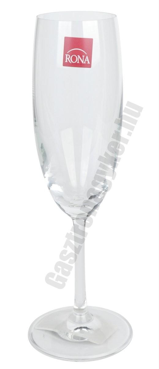 Gala pezsgős flute 175 ml
