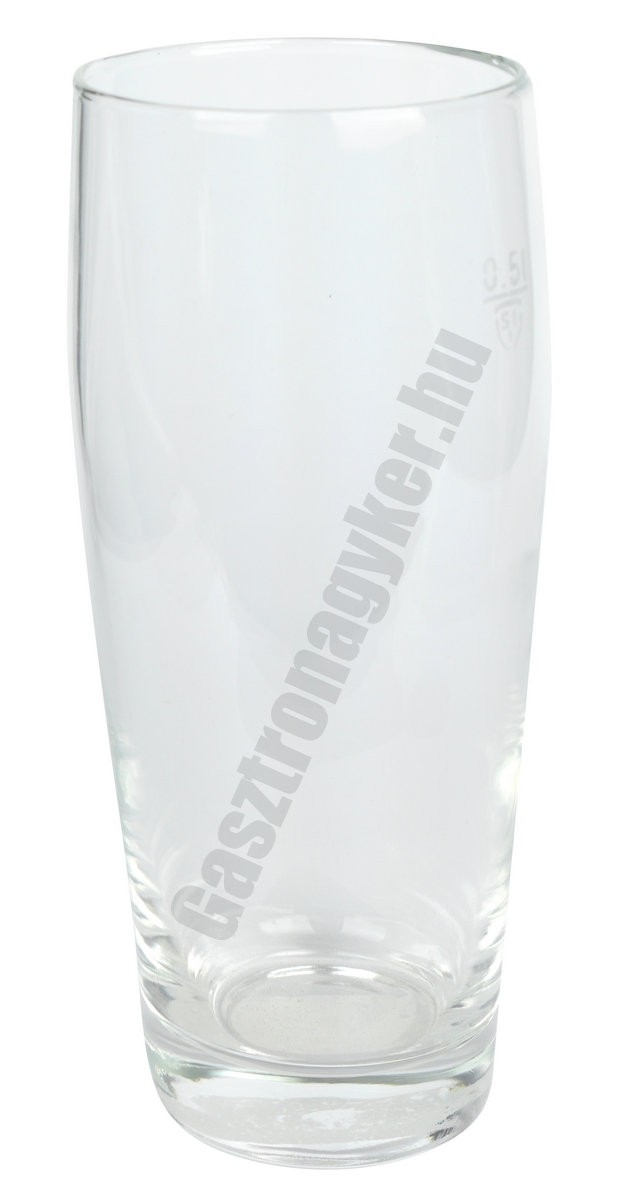 Willy söröspohár 500 ml, jeles, üveg