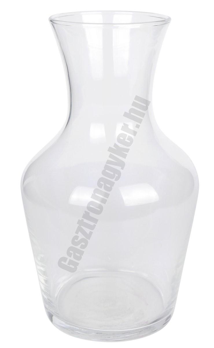 Vin dekantáló 1,0 liter üveg