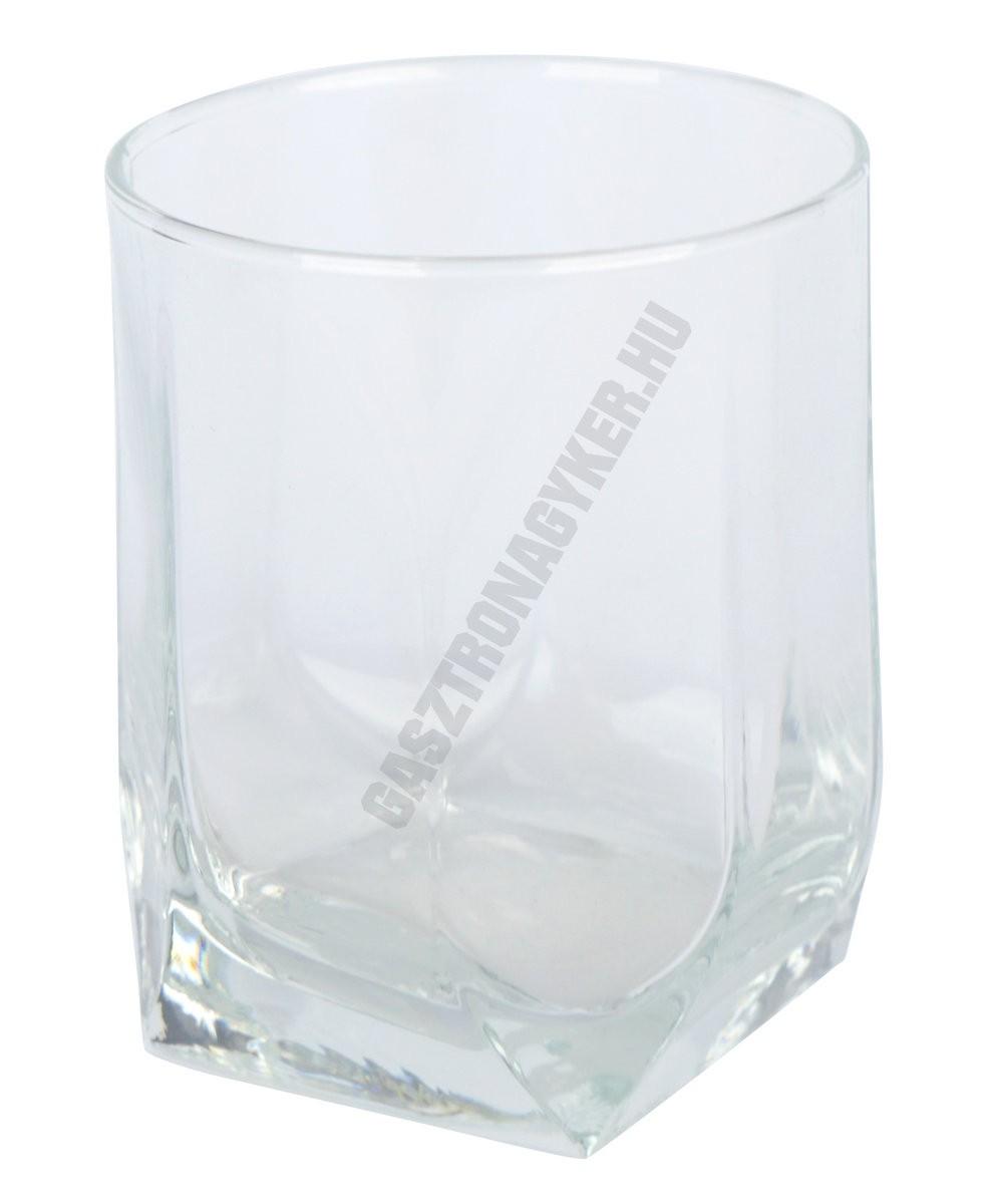 Tuana vizes-whisky pohár, 320 ml, üveg