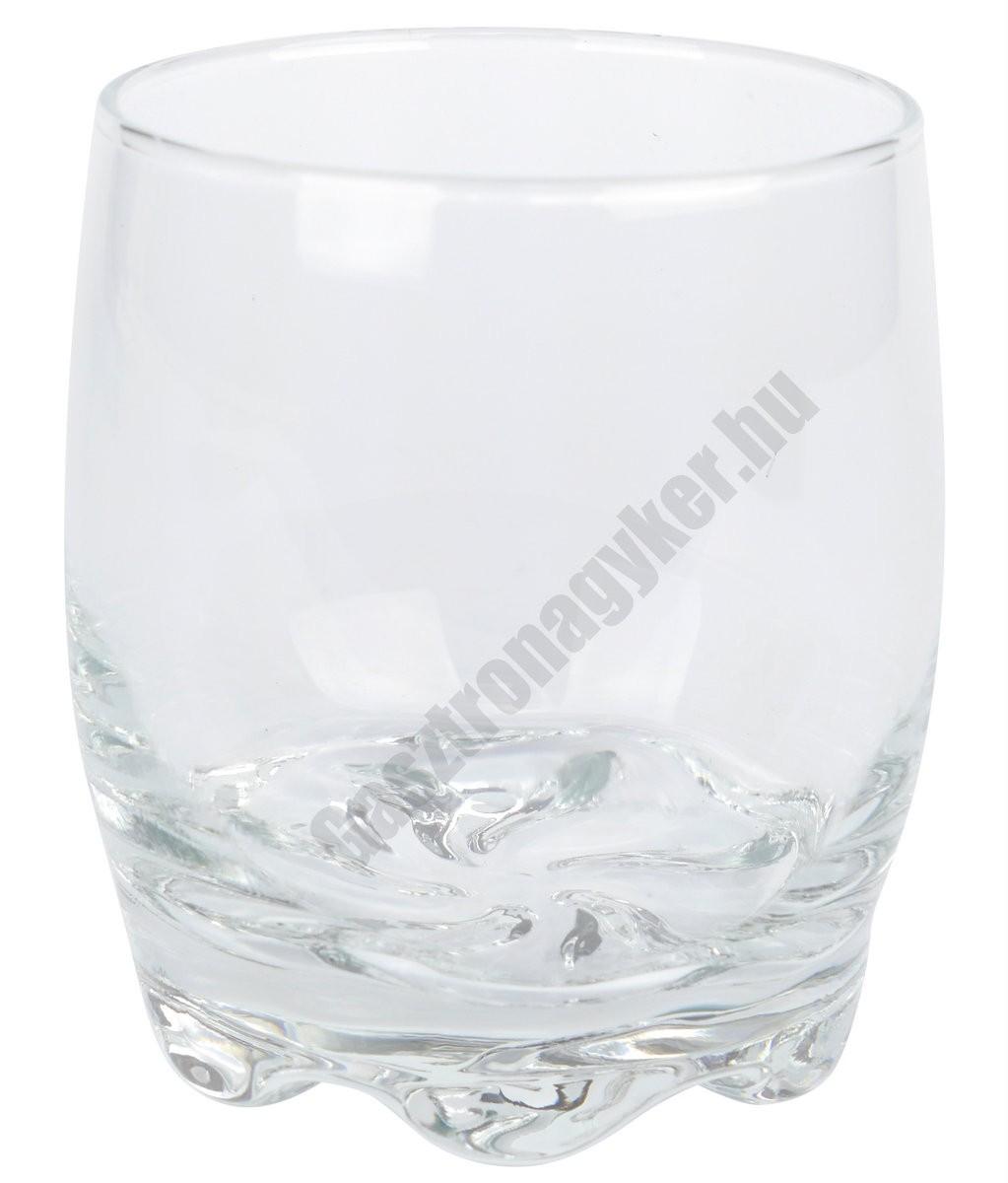 Adora vizes-whisky pohár, 275 ml, üveg