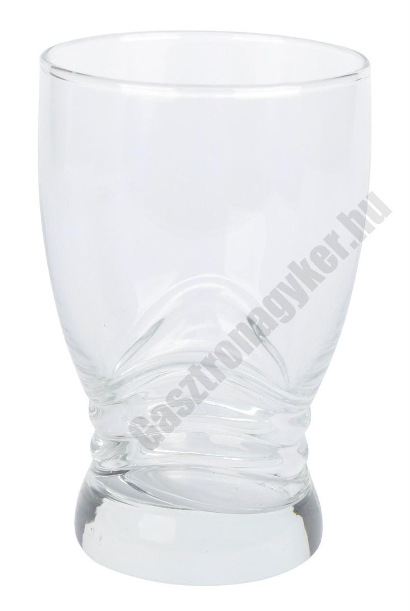 Adrasan vizespohár 300 ml, üveg