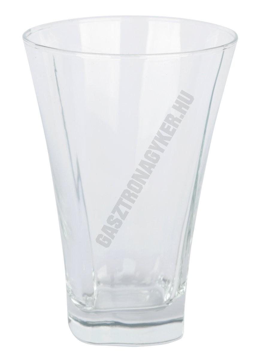 Truva üdítőspohár 350 ml, üveg