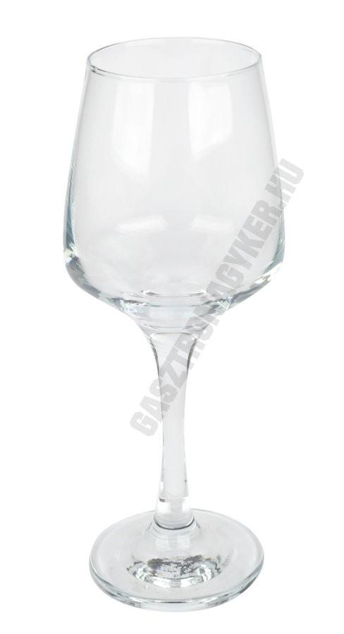 Lal vizes-boros pohár, 330 ml, üveg