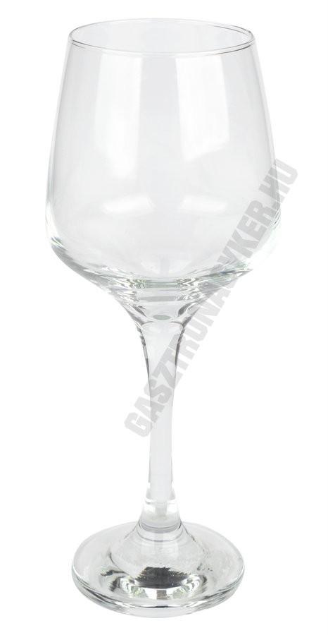 Lal borospohár, 400 ml, üveg