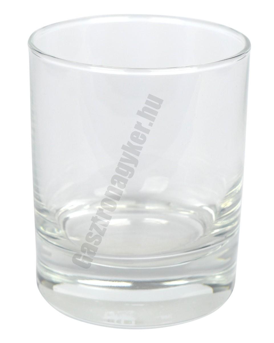 Classico vizes-whisky pohár, 240 ml, üveg
