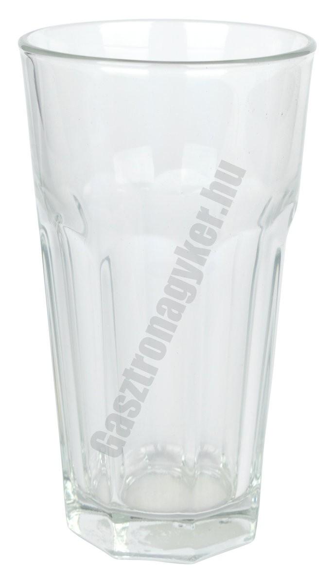 Marocco vizespohár 330 ml, üveg
