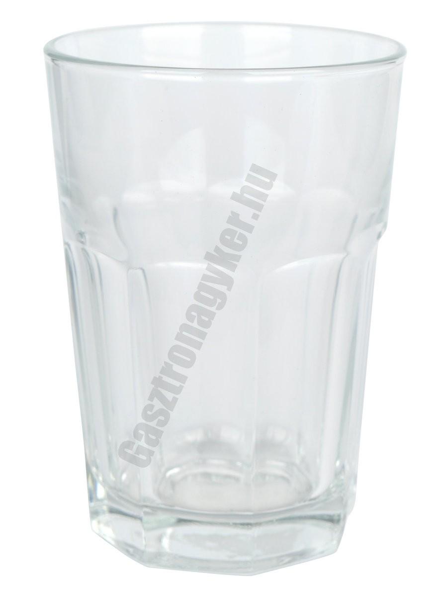 Marocco vizespohár 350 ml, üveg
