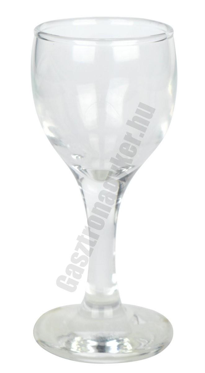 Kouros pálinkás pohár, 60 ml, üveg