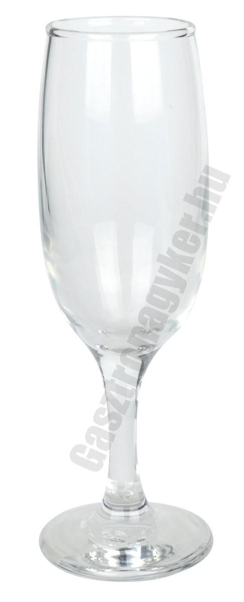 Kouros pezsgős flute 190 ml, üveg