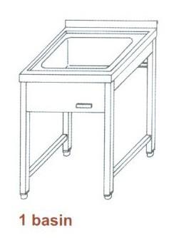 Nagykonyhai mosogató FMC-1550