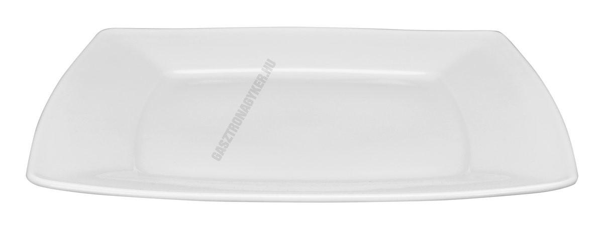 Victoria lapostányér 26 cm szögletes