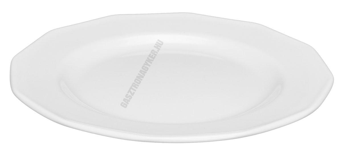 Mercury lapostányér 19 cm porcelán