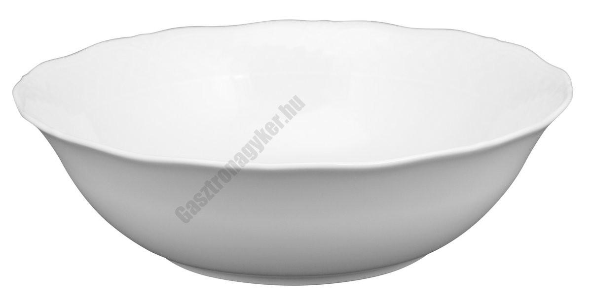 Afrodyta salátás és tálaló tál 23 cm 1,5 liter porcelán