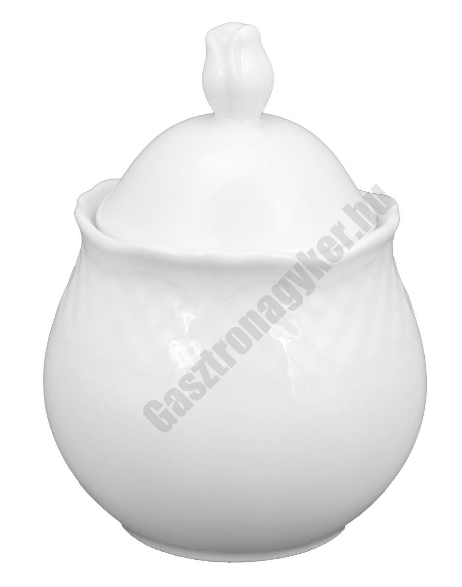 Afrodyta cukortartó fedővel 0,25 liter porcelán