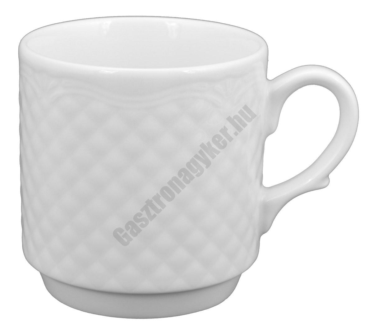 Afrodyta bögre, 0,3 liter, porcelán
