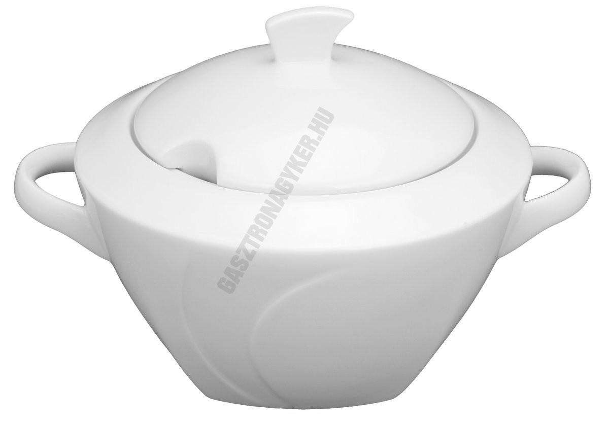 Celebration leveses tál fedővel 2,5 liter szögletes