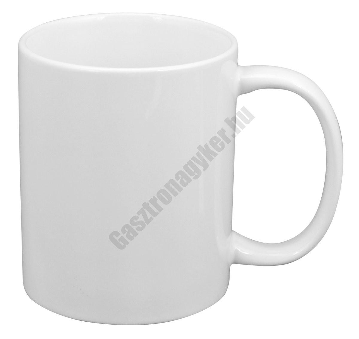 229f96558c Bögre fehér 300 ml porcelán | Gasztronagyker webáruház