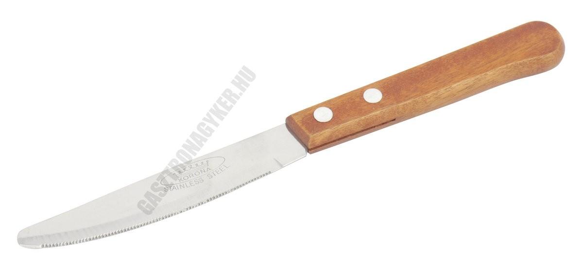 Fanyelű kés 9,5 cm penge