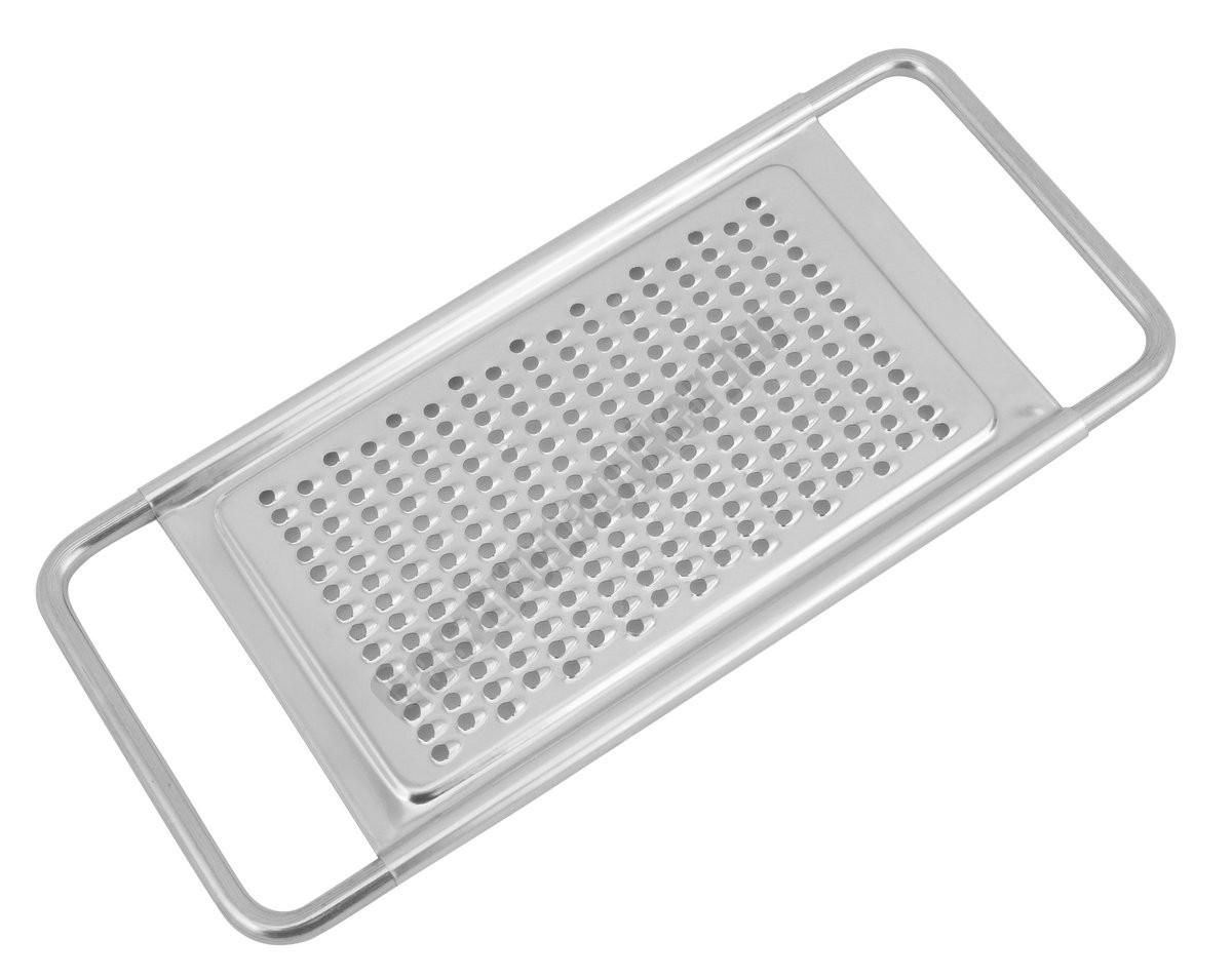 Egyoldalú reszelő, rozsdamentes 8×18 cm