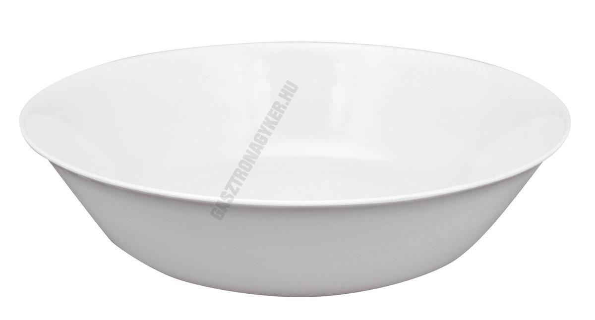 Salátástál, 3,5 l, 30 cm műanyag