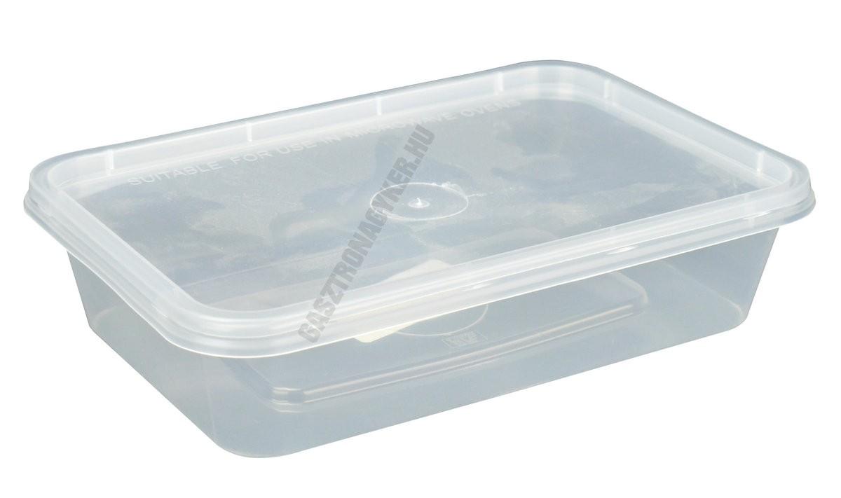 Ételtartó doboz+fedő 0,5 liter