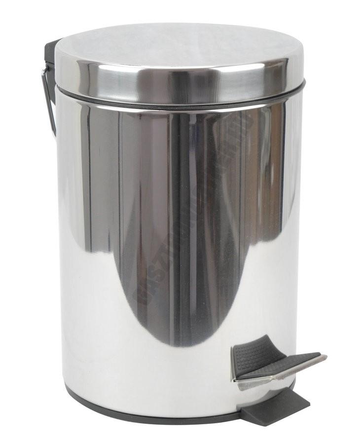 Pedálos szemetes 3 liter, kivehető vödörrel