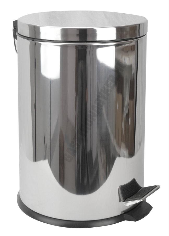 Pedálos szemetes 20 liter, kivehető vödörrel, matt