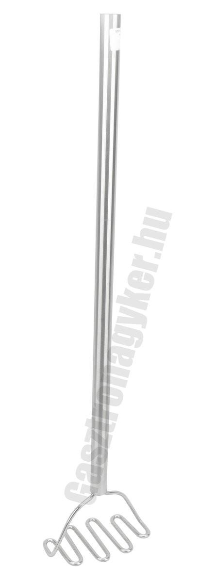 Burgonyatörő 16×10×80 cm rozsdamentes