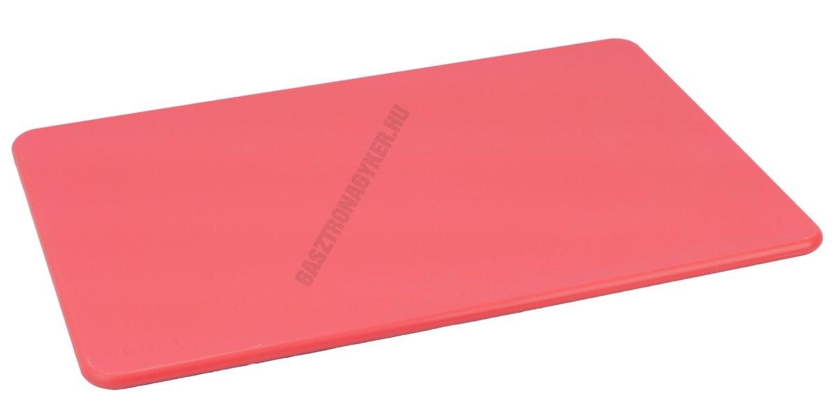 Vágólap 30×45×1,3 cm piros műanyag