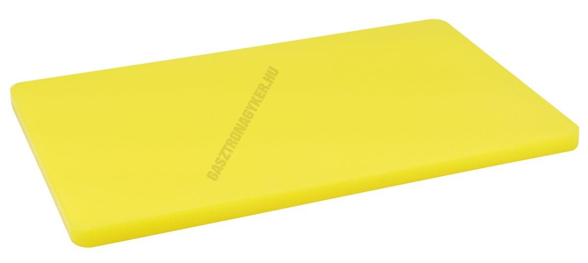 Vágólap 32,5×53×2 cm sárga
