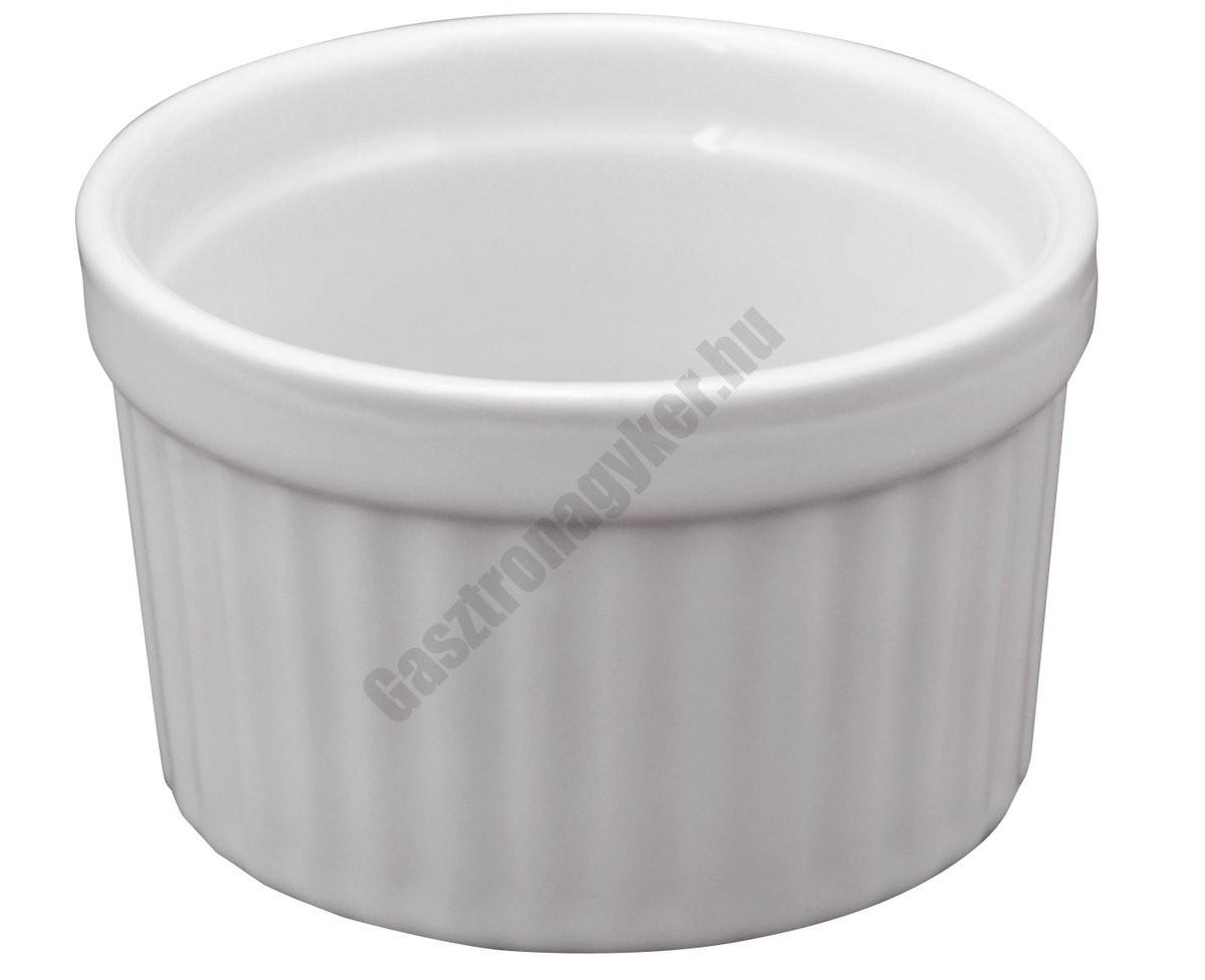 Ramekin szufléforma 0,07 liter 6,5×4 cm, porcelán